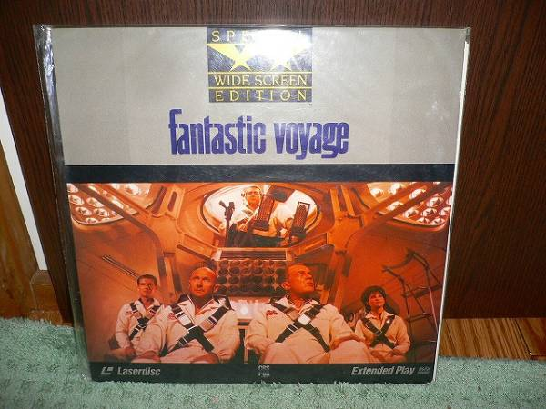 R3 LD ミクロの決死圏 fantastic voyage special wide screen_画像1