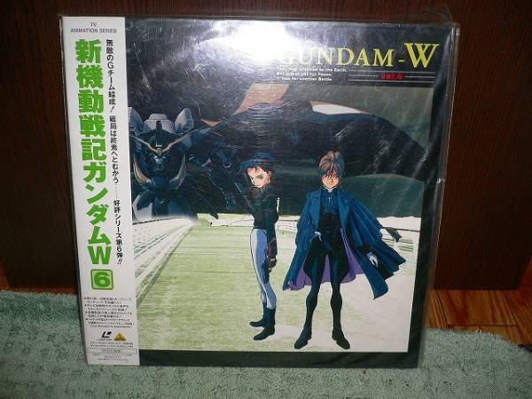 R3 新品LD 新機動戦記ガンダムW Vol.6 41話~48話矢立肇_画像1