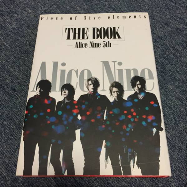 「THE BOOK」-Alice Nine 5th- 初版