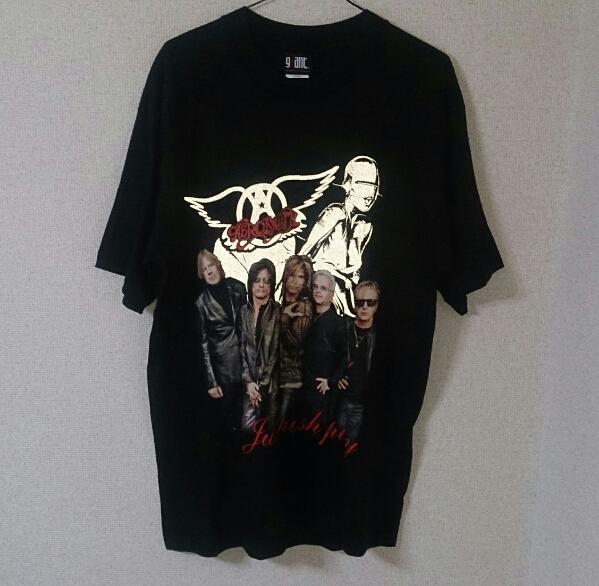 USA製 エアロスミス AERO SMITH Just push play World Tour 2001~2002 Tシャツ 未使用品