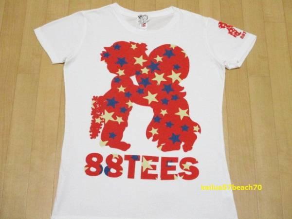 88tees エイティエイティーズ ハワイ レディース 半袖 Tシャツ S 嵐 相葉 Mステ 着用 モデル