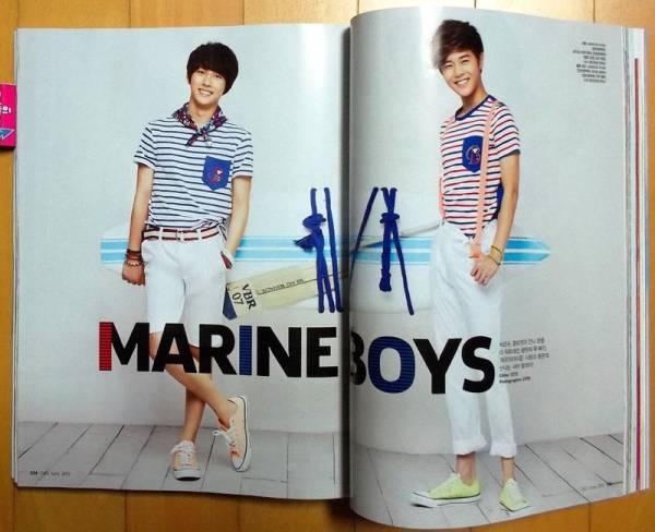 [ZE:A ゼア/シワン, ドンジュン] 韓国雑誌切り抜き8P/2013年6月 コンサートグッズの画像