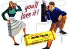 ●221F 1948年のレトロ広告  リグレー ガム Wrigley's
