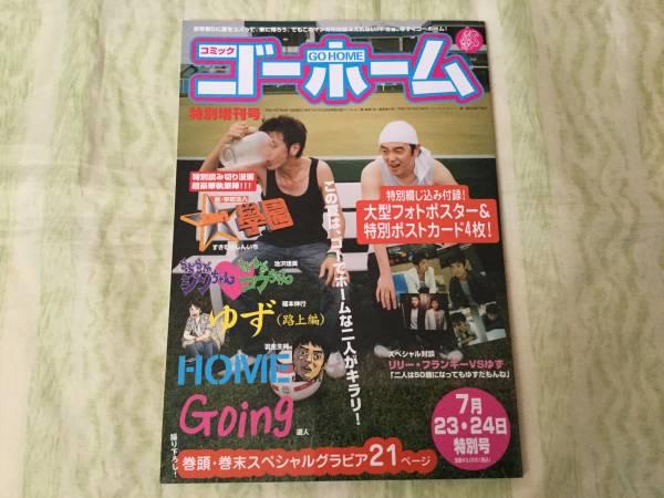 ★ゆず パンフレット★コミック ゴーホーム/スタジアム2005