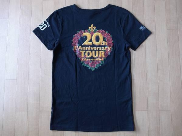 L'Arc-en-Ciel 20th L'Anniversary TOUR Tシャツ S ラルク hyde