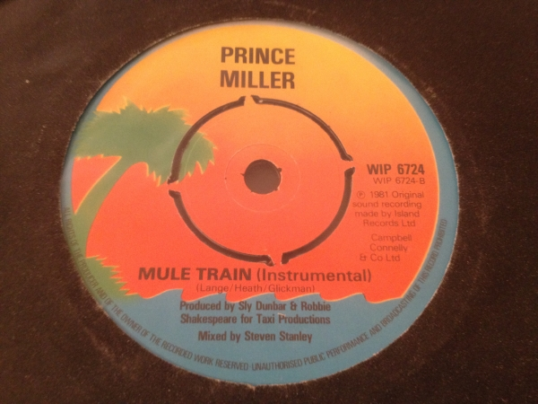 ■Prince Miller/Mule Train■名曲リメイク!_画像2