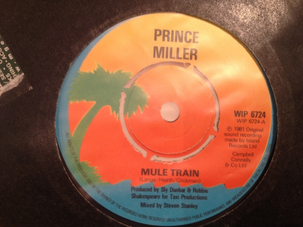 ■Prince Miller/Mule Train■名曲リメイク!