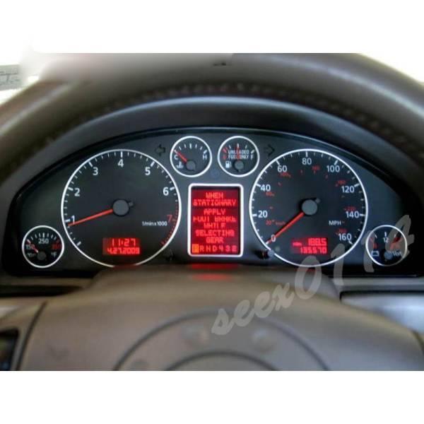 Audi A3 8l A4 B5 A6 C5 Dash Board Meter Trim Set Real Yahoo