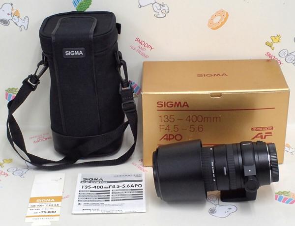 ♪SIGMA/シグマ 135-400mm F4.5-5.6 APO Canon/キャノン 札幌♪