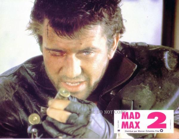 マッドマックス2 メル・ギブソン フランス語 ロビーカード 3枚組
