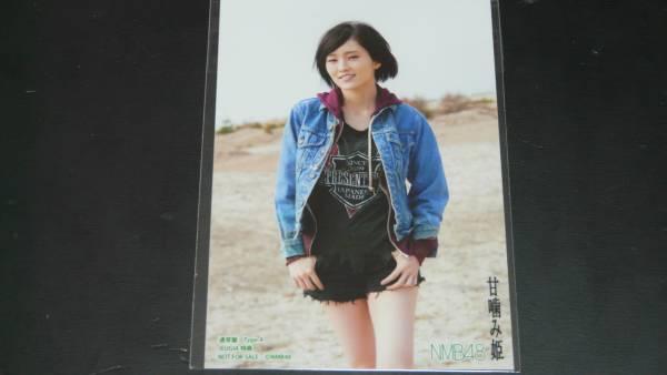 NMB48甘噛み姫タイプA JEUGIA店特典外付け 山本彩_画像1
