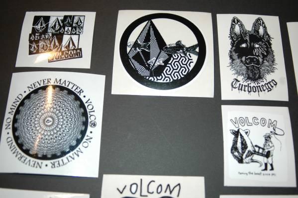 即決 VOLCOM ボルコム 非売品 ステッカー セット B 2_画像3