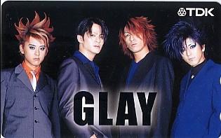 ●GLAY(グレイ)のテレカ(2)●