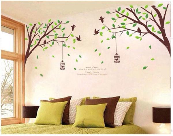 ウォールステッカー 木 壁シール 壁紙 インテリアシール 壁デコ