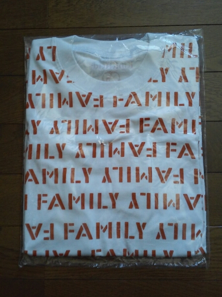 KinKi Kids 君も堂本FAMILY ツアーTシャツ コンサートグッズの画像
