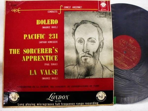 LP ラヴェル:ボレロ/オネゲル:パシフィック231,他/アンセルメ_画像1