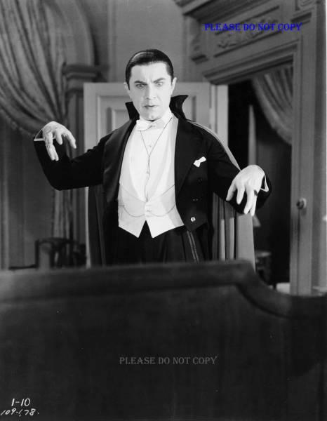 1931年 Dracula 『魔人ドラキュラ』 ベラ・ルゴシ フォト3枚付き