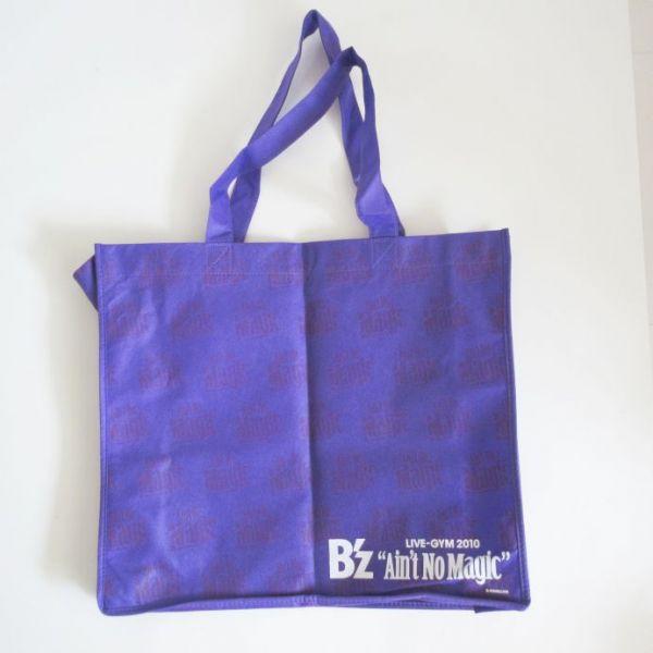 B'z 2010 トートバッグ 稲葉松本グッズ