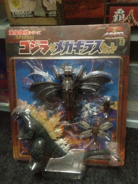 バンダイ 東宝怪獣シリーズ ゴジラxメガギラスセット グッズの画像