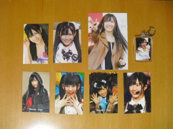 AKB 渡辺麻友 写真ストラップ・写真・カード 計8点