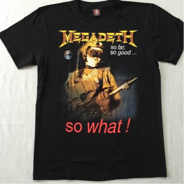 バンドTシャツ  メガデス(MEGADETH) w1 新品L