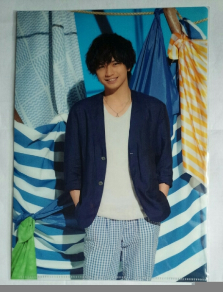Sexy Zone Summer Paradise 2016 中島健人 クリアファイル☆新品