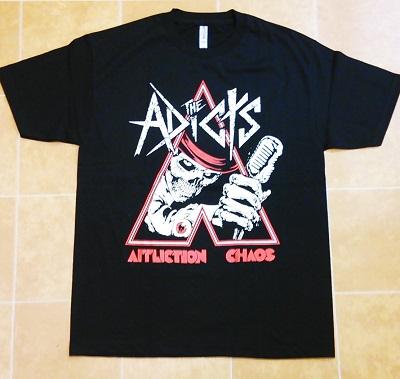 ★ADICTS アディクツ UK ロンドン ポップパンク PUNK Tシャツ 直輸入品