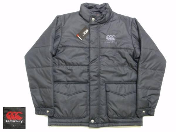 送料込・新品 カンタベリーロゴ刺繍 中綿JKT インサレーションジャケット 黒 Mサイズ
