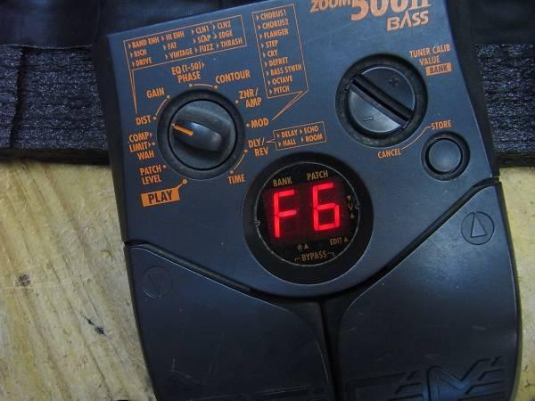 ZOOM 506ii Bass 整備済品