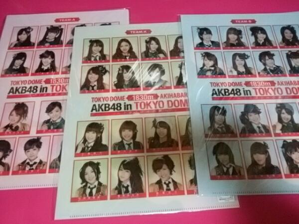 AKB48 クリアファイル グッズ 前田敦子 ノート 推しタオル ライブ・総選挙グッズの画像