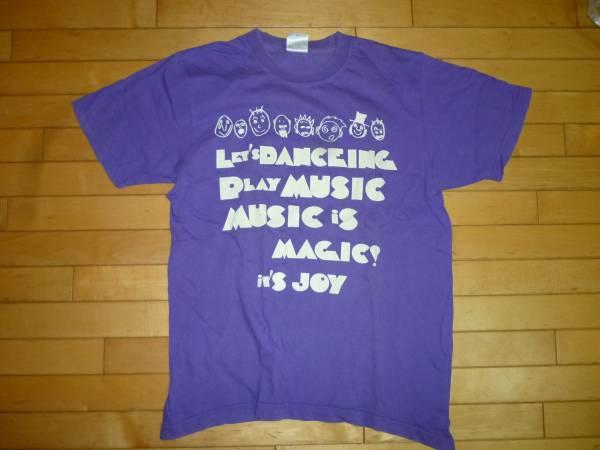 即決●曽我部恵一バンド MICETEECH イベントTシャツ 紫 M