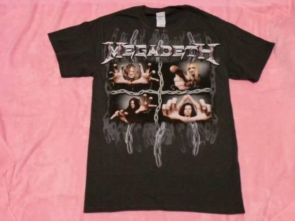 MEGADETH メガデス Tシャツ ロックT S バンドT ツアーT ANTHRAX Metallica