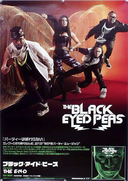 ブラック・アイド・ピーズ BEP B2ポスター (1D08001)