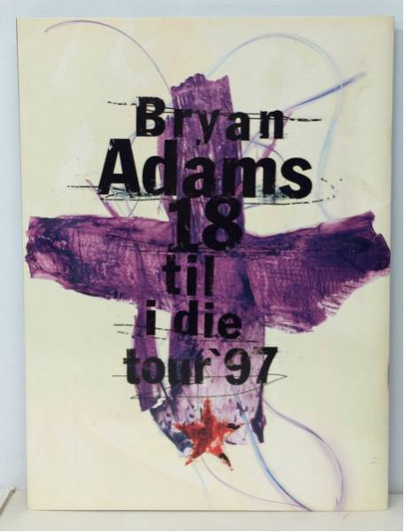 BOOK/BRYAN ADAMS/ 18 TIL I DIE TOUR '97 ツアー・パンフ(i647)