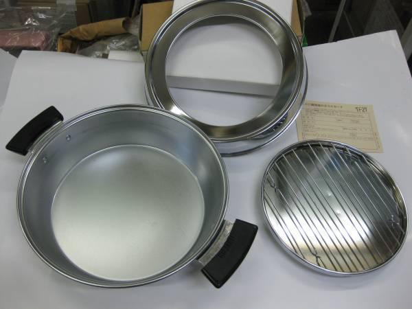 昭和に仕入れた硬質クロームメッキ仕上げのてんぷら鍋_画像3