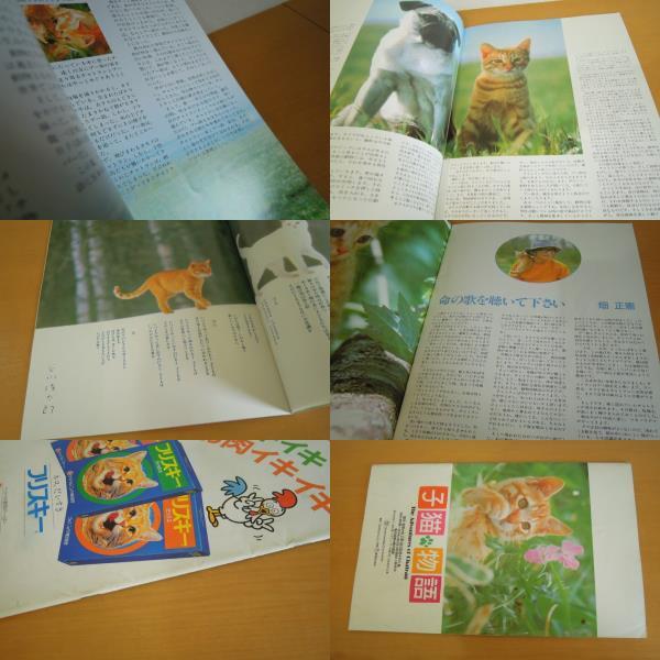[古本]映画パンフレット 子猫物語 *畑正憲 チャトラン プー助_画像3