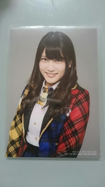 AKB48 入山杏奈 希望的リフレイン 通常盤 生写真 硬質ケース付き