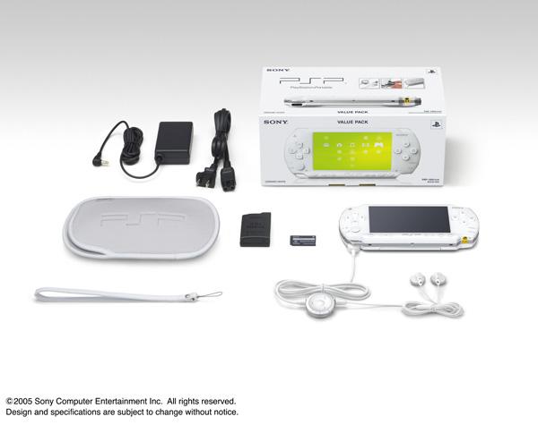 PSP1000 バリュー・パック (PSP-1000KCW) セラミックホワイト_画像1