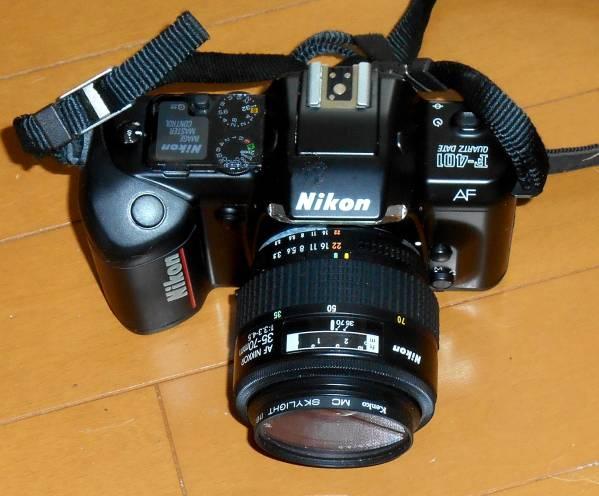 ★ニコン 一眼レフ フィルムカメラ F-400 交換レンズ付