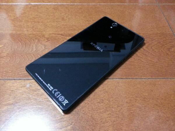 即落/即発!!美中古品 SO-02E Xperia Z ブラック_画像2