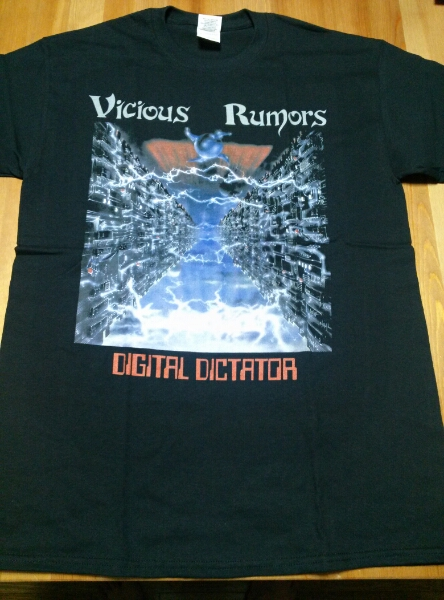 Vicious Rumors Tシャツ 黒M /slayer kreator destruction