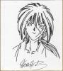 『るろうに剣心』和月伸宏さんの直筆色紙です。