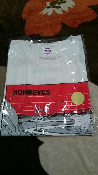 MONOEYES Tシャツ L (検 THE HIATUS ELLEGARDEN SKULLSHIT WANIMA タオル CD DVD Blu-ray)
