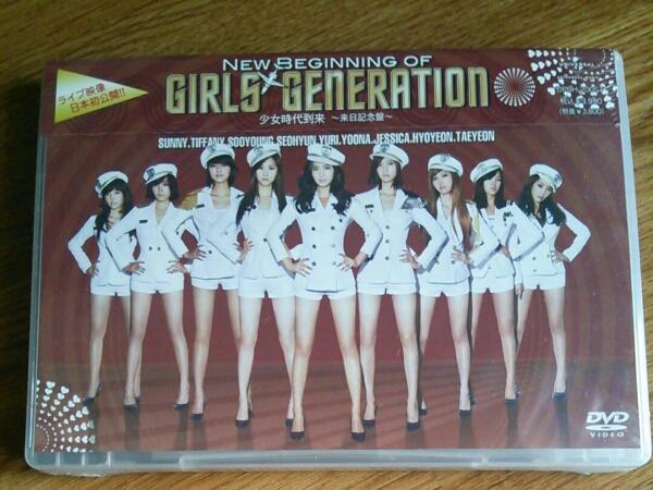 ■新品■ 少女時代 来日記念盤 new begining of girlsgeneration ライブグッズの画像