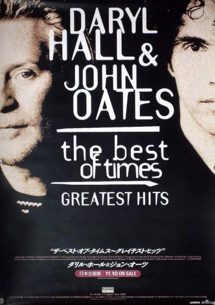 HALL&OATES ダリル・ホール ジョン・オーツ B2ポスター (L19003)