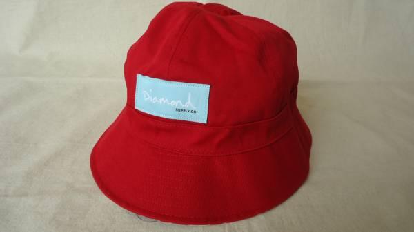 Diamond Supply Co. Rope Reversible Bucket Hat 赤 半額 50%off ダイアモンド スケートボード ハット 帽子 レターパックライト_画像2