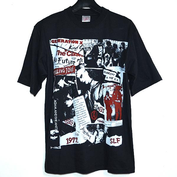 PUNK Tシャツ 70年代バンド セックスピストルズ THE CLASH