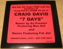 ★CDS★Craig David/7 Days(DJ Premier Remix)★PROMO★Fat Joe