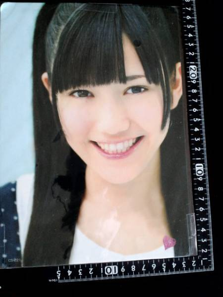 非売品☆トキメキ☆AKB48☆渡辺麻友☆下敷きどすぅ~☆①☆残1_画像2
