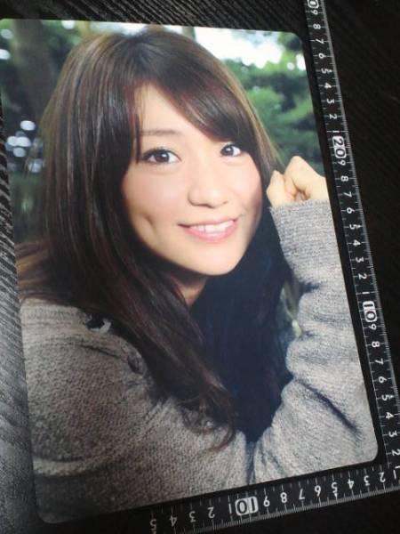 非売品☆トキメキ☆AKB48☆大島優子☆下敷きどすぅ~☆⑧☆残1_画像1